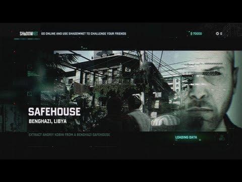 Tom Clancy's Splinter Cell: Blacklist - Mission 1: Safehouse HD