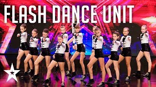 Flash Dance Unit zaplakali od sreće│Supertalent 2019│Audicije
