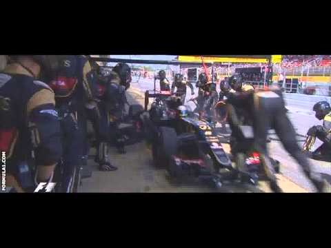 Lewis Hamilton beaten by Nico Rosberg in Spanish GP