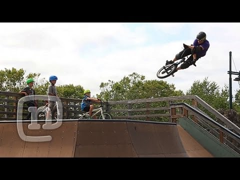 BMX Rocket Air Trick Tip With Ryan Nyquist: Getting Awesome Ep. 18