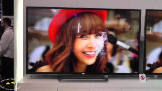 LG 84-inch Ultra Definition 4k HDTV Eyes-on @CES 2012