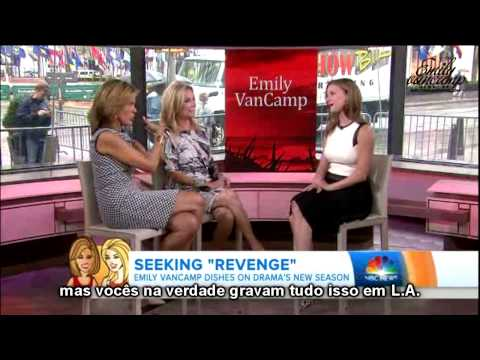 Entrevista Emily VanCamp no programa Today (Legendado)