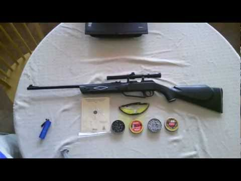 Daisy.177 880 Powerline Kit air rifle review and test firing.