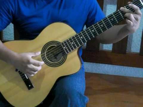 Renuevame con tutorial musica cristiana (solo guitarra acustica)