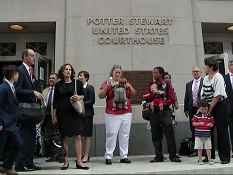 Appeals Court Gay Marriage Case Begins