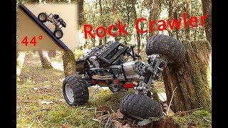 [MOC] Lego Technic Rock Crawler with SBrick - All Terrains Test - Partie 1