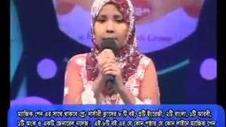 হৃদয় কাপানো একটি সুন্দর ইসলামিক গান-2016 _kanij fatima jaki_2