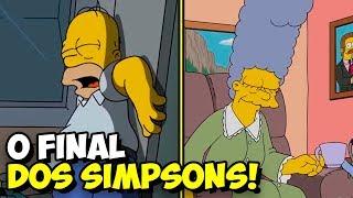 O triste final dos Simpsons! Último episódio revela o destino de Homer e sua família!