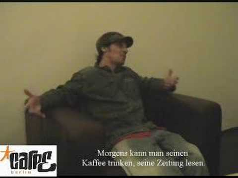 Manu Chao Interview auf Deutsch (Part I)