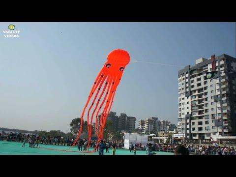 International Kite Festival (HD) || Surat || Variety Videos || 2016