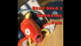 Beat Solo 3 Wireless Headphone Unboxing Fail (Kor/Eng sub)