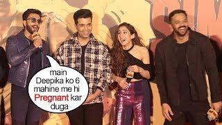 Ranveer Singh's FUNNIEST Reaction On Deepika Padukone PREGNANCY After Marriage