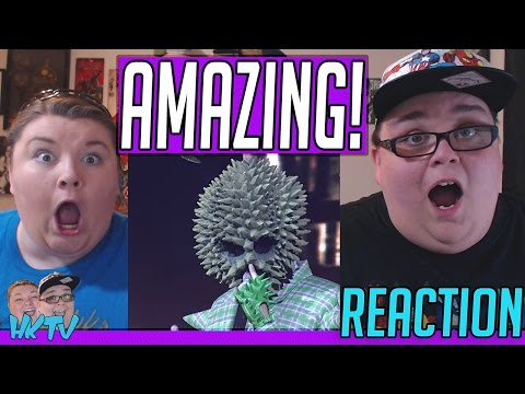 Set Fire To The Rain - Durian Masked | The Mask Singer Thailand REACTION!! 🔥