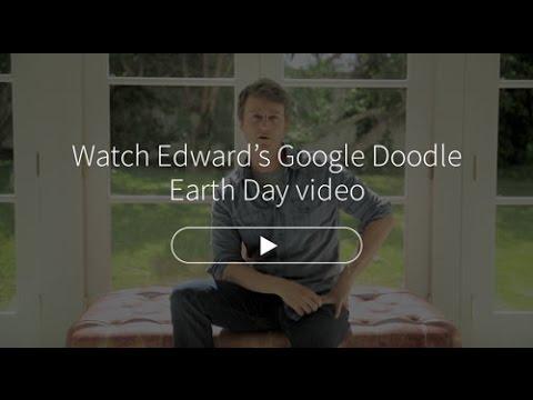 Edward Norton - Google Doodle Earth Day
