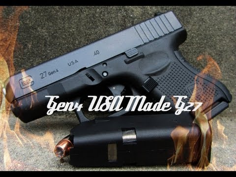 USA Made Gen4 Glock 27 HD Review