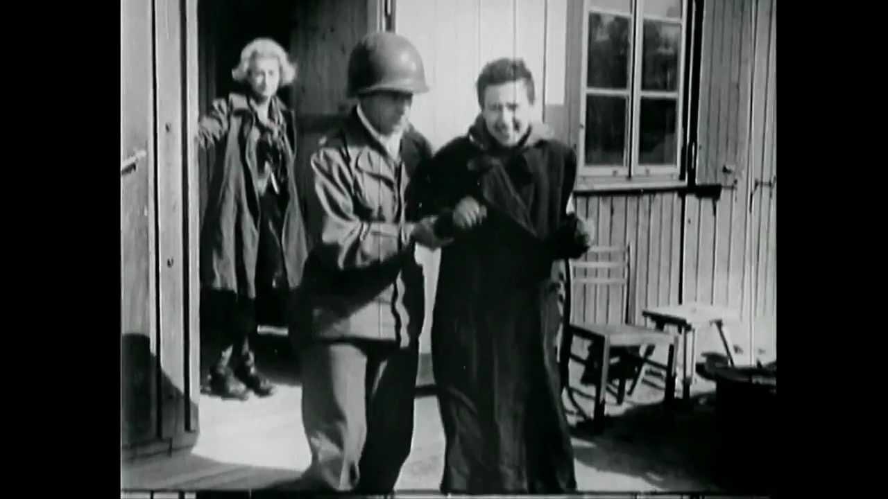 nazi concentration camps film shown at nuremberg war