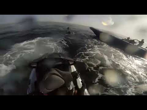 """الحريك على متن """"جيت سكي"""" الظاهرة الجديدة التي أرقت الحرس الاسباني"""