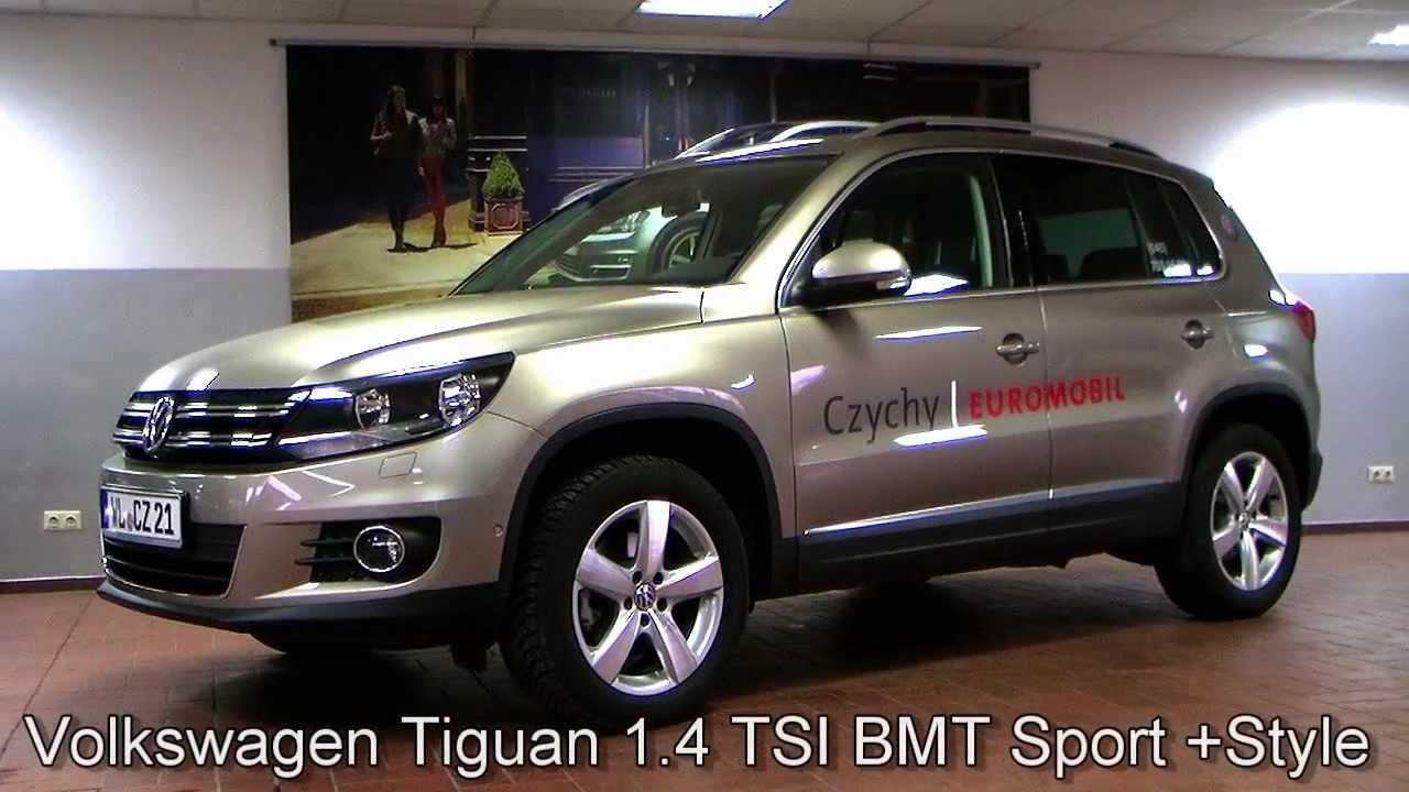 Volkswagen Tiguan 1 4 Tsi Bmt Sport Style Ahk Cw053702