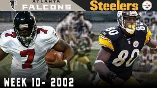 The Craziest Tie in NFL History! (Falcons vs. Steelers, 2002) | NFL Vault Highlights