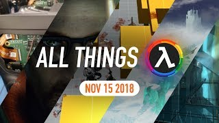 Half-Life VR Game Rumours, Tripmine Studios Updates and More - All Things Lambda (15 Nov 2018)