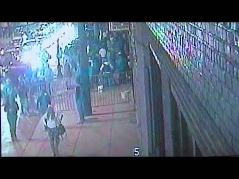 Surveillance video shows moments after shooting at Odeon Concert Club in The Flats