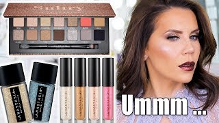 ANASTASIA SULTRY PALETTE + GLITTERS | Hot or Not