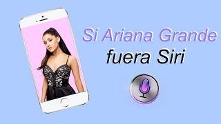 Si Ariana Grande fuera Siri (subtitulado)