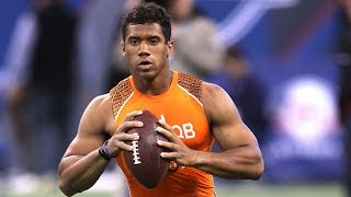 Russell Wilson (Wisconsin, QB) 2012 NFL Combine highlights
