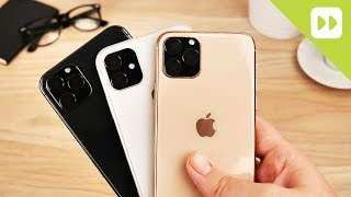 iPhone 11 / 11 Max / 11 R First Look Hands On Comparison
