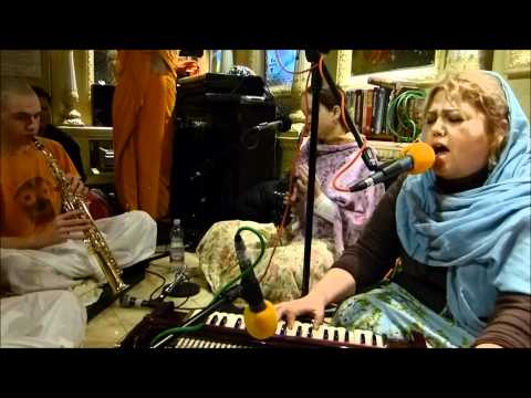 Kirtans By Krishna Mayi Dd, Iskcon London, 2012 01 14 video