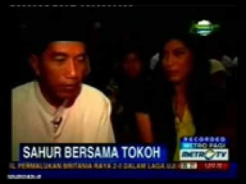 jokowi gagap ketika di tanya makna ramadhan,jokowi muslim?