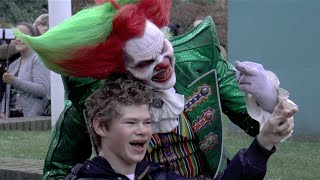 Eddie De Clown Halloween Walibi Fright Nights oktober 2014 met Frank.