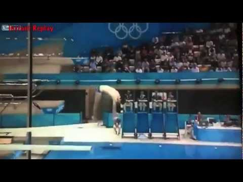London Olympic 2012 Stephan Feck Diving Fail 3m Springboard