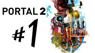 Portal 2 - Parte 1: GladOS IS STILL ALIVE!!!! [ PC 60FPS Playthrough PT-BR ]
