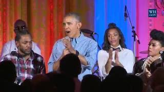 A Fourth of July Celebration at the White House with the President and First Lady