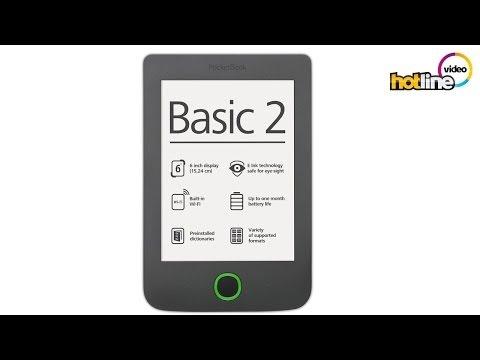 Обзор ридера PocketBook Basic 2 (614)
