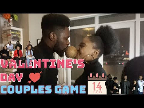 HE DOESN'T KNOW ME😓 (VALENTINE'S DAY COUPLES GAME)