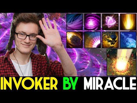 Miracle- Dota 2 [Invoker] When M-God Pick Invo !