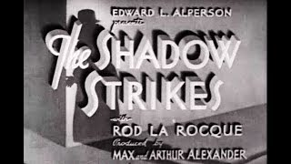 Film-Noir Crime Mystery  Movie - The Shadow Strikes (1937)  from sallis65