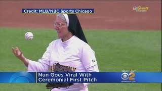 Nun Goes Viral With Ceremonial First Pitch