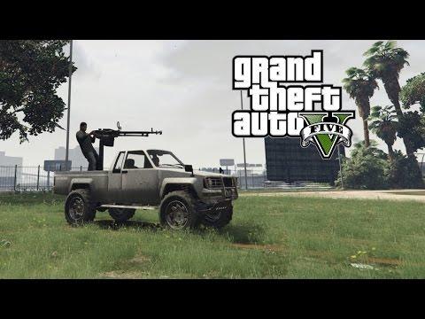 GTA 5 PC - Lamar Gunner Mod