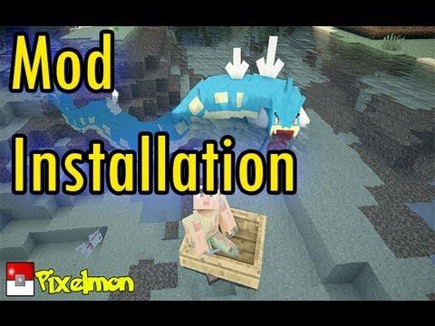 Minecraft Mod Tutorial | Pixelmon Mod Installation | 1.5.2