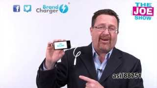 BrandCharger PowerBank featured in Joe Show ASI Orlando 2014