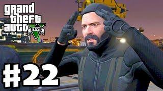 Grand Theft Auto 5 - Gameplay Walkthrough Part 22 - Merryweather Heist (GTA 5, Machete Kills)