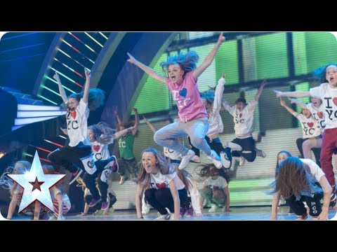 OMG! Youth Creation dance mashup! | Semi-Final 1 | Britain's Got Talent 2013