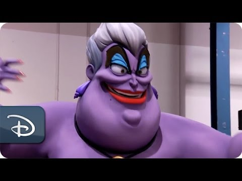 Ursula Moves Into Her Lair at Disney California Adventure Park