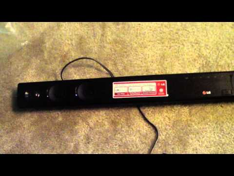 unboxing lg nb3530a 2 1 300 watt sound bar soundbar bluetooth how to save money and do it. Black Bedroom Furniture Sets. Home Design Ideas
