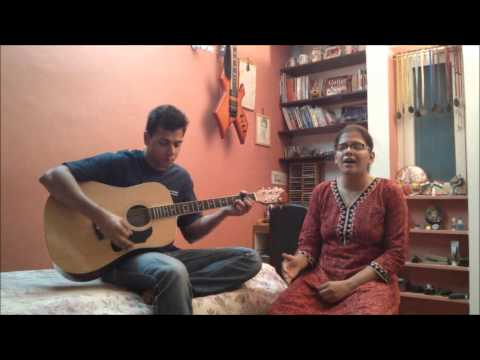 Aaj Jaane Ki Zid Na Karo - Cover By Brother-sister video