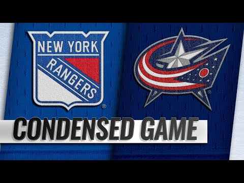 01/13/19 Condensed Game: Rangers @ Blue Jackets