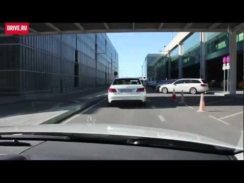 2013 Mercedes-Benz E-Class — За кадром